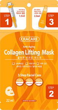Anti-Aging 3 Steps Collagen facial Essence Mask