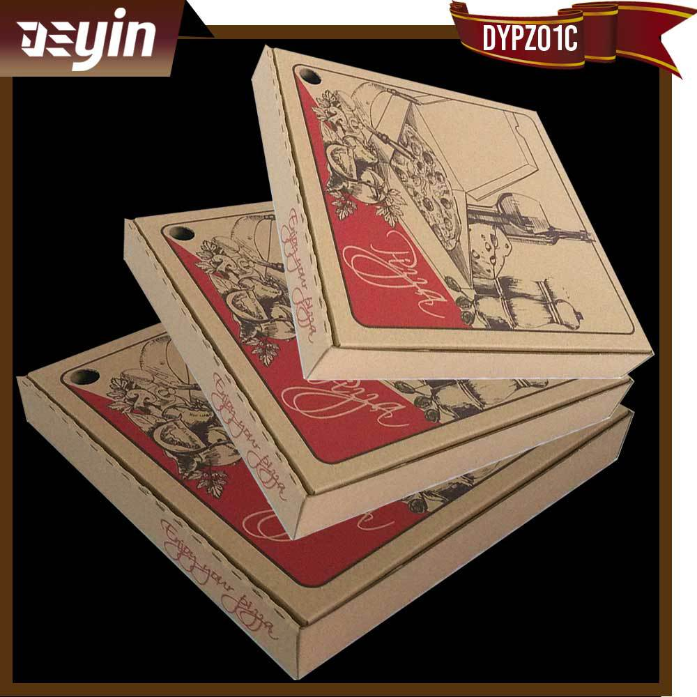 Food-grade Personalized Pizza Box With cheap price