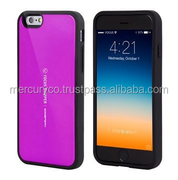 hard bumper phone case Mercury Focus bumper case (Purple)