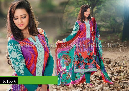 Enthralling Designer Semi Stitch Salwar Kameez Collections