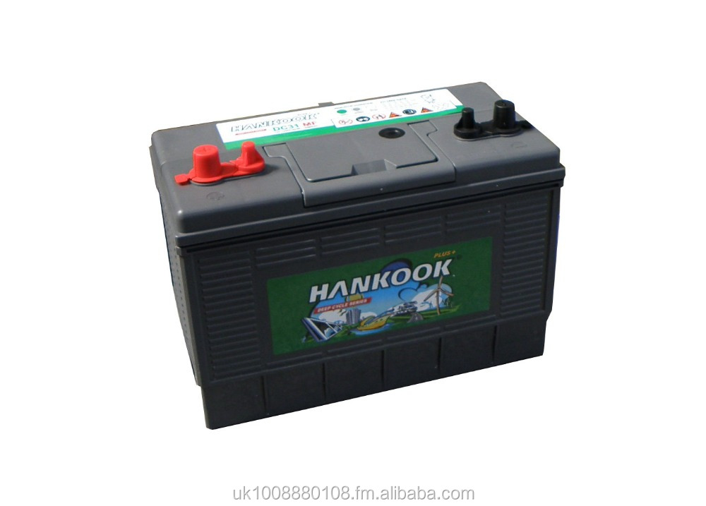 Hankook DC31 - 12v 100ah Deep Cycle Battery