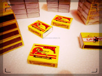 full phosphor / fosforos OEM your logo and 4color printing Safety Matches