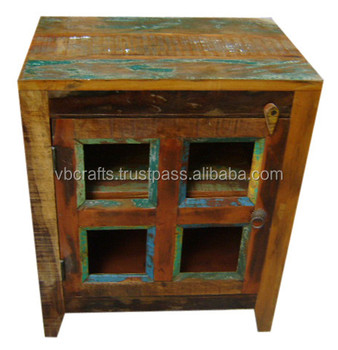 Recycled wood kitchen cabinet buy kitchen cabinets for Kitchen cabinets jaipur