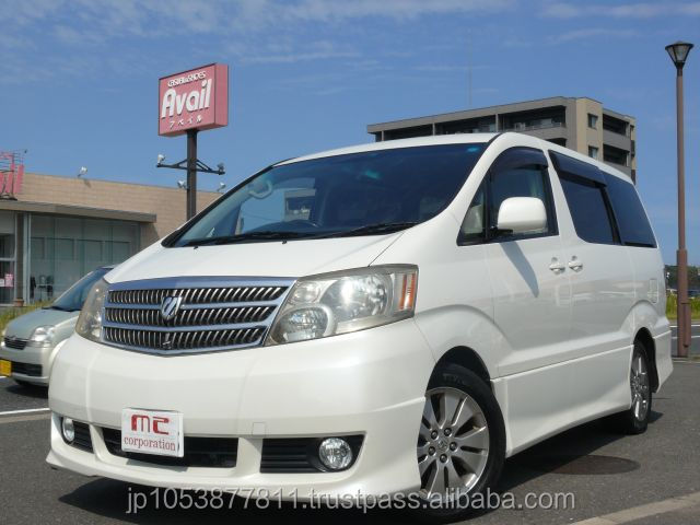 Good looking and japanese toyota company in japan toyota alphard 2003 used car