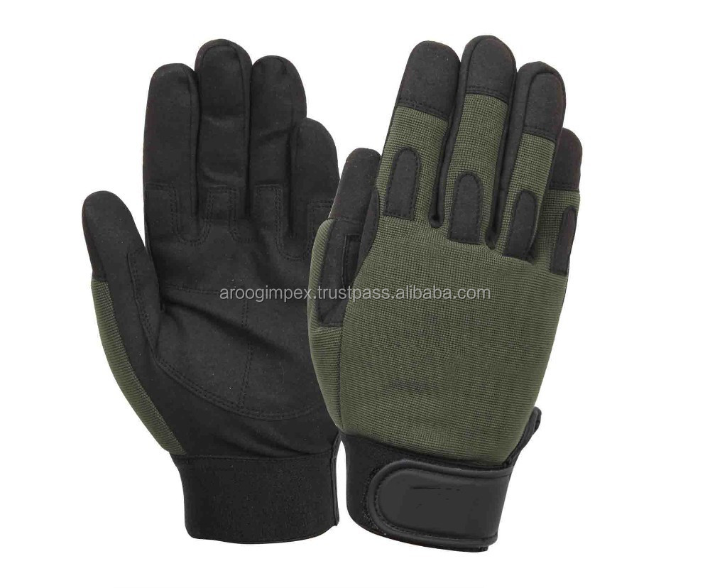 New fashion stype Tactical /safety /Hunting/ Airsoft Full Finger Tactical Safety Gloves/Black Military Glove