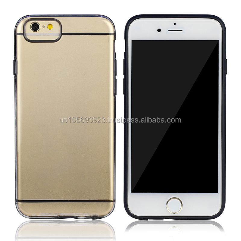 IMPRUE 2015 Ultra Slim Clear Hard TPU+PC Case With Dual Colors for iPhone5 5s 8 Colors Available