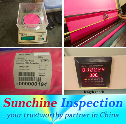 Fabric Quality Control / Fabric Inspection / Lab Test to Ensure Safe and Quality Products