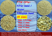 Silica Sand / Gravel for sewage treatment and water filtration