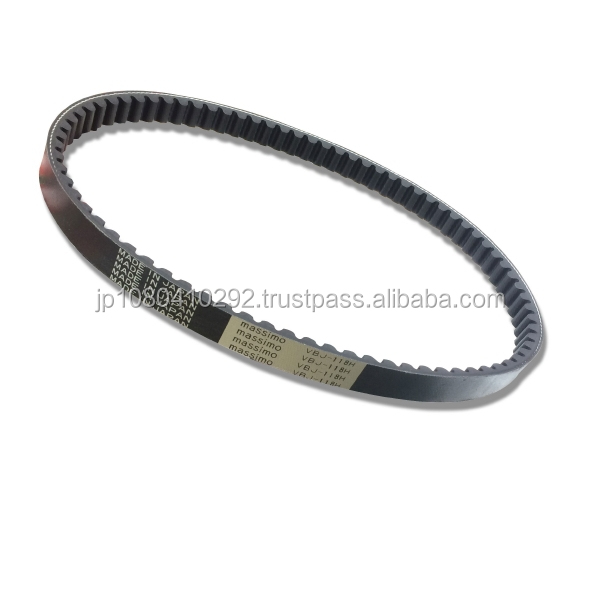 Japanese and Best-selling supplier from japan V-belt for motorcycle ,Scooter 50cc~250cc also available