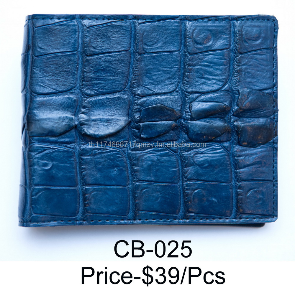 Real Crocodile Men Wallets