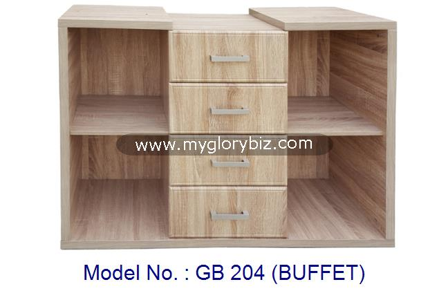 Kitchen Base Cabinet With Drawer, Kitchen Buffet Furniture, Kitchen Cabinet Without Door