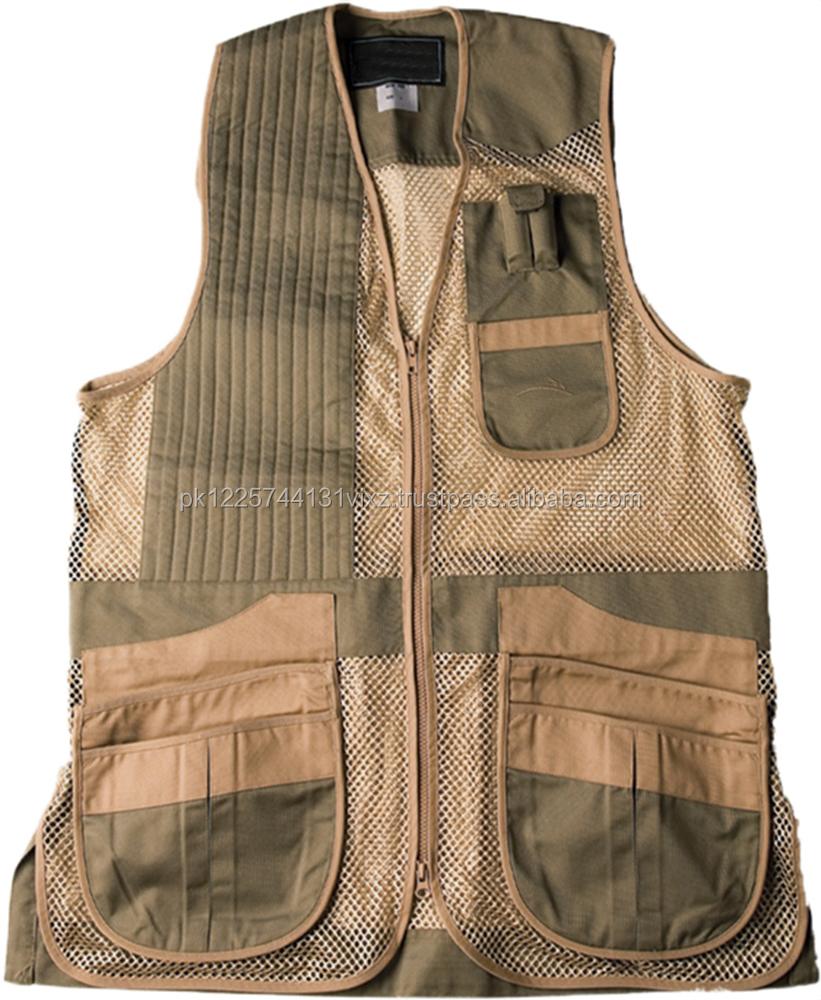 Clay Shooting Vest , Hunting Vest Custom Vest