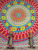 Indian Tapestry Wall Hanging Hippie Elephant Mandala Bedspread Ethnic Throw Art India Gift