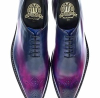 Navy BLue oxford new design shoes