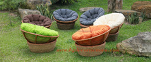 Water hyacinth relax chair, water hyacinth funiture manufacturer Vietnam