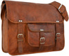 Leather Bag Collegebag Messengerbag Notebook Laptop Office Bag Shoulder Gusti Leather