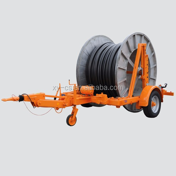 10 Ton Cable Reel Trailer Cable Reel Puller Cable