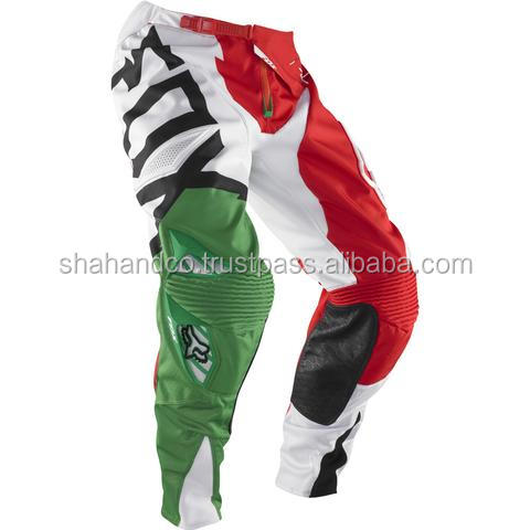 motocross dirt-bike pants and jerseys