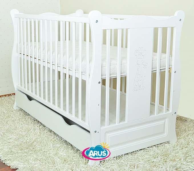 "NEW !!! BABY COT WITH DRAWER/JUNIOR BED ""SOFIA"" 3 MODELS + COCONUT FOAM MATTRESS"