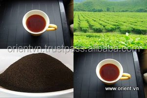 Best selecting spring leaves Dust black tea