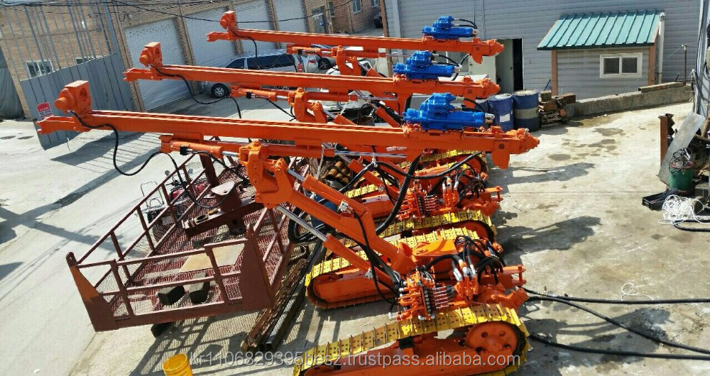 New PCR200_Pneumatic Crawler Drill