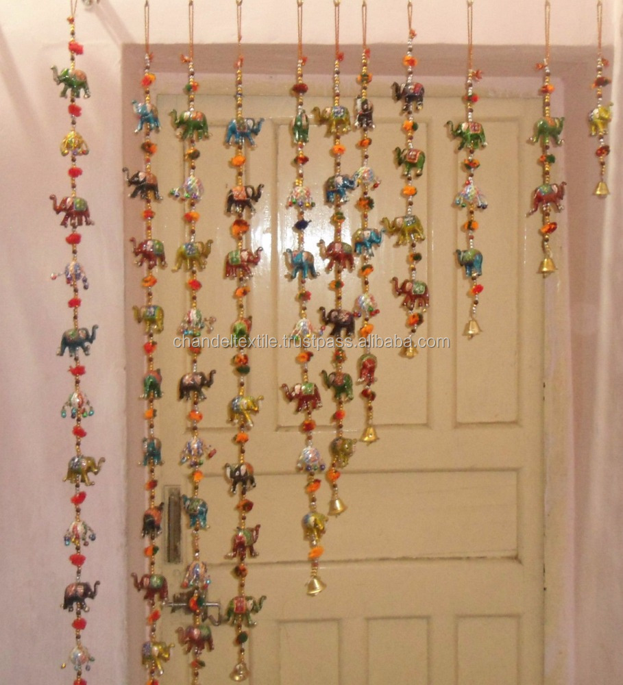 Wall Hangings vintage handmade wall hangings pair latkan decor beaded door