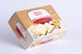 Cream biscuit made from cream and eggs - Tasty Halal biscuit pack in box 100g from Vietnam