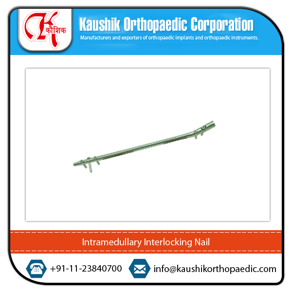Orthopedic Implants Titanium Intramedullary Interlocking Nail