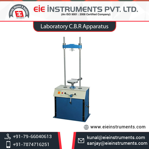 Hand Operated/Electrically Operated Lab CBR Test Apparatus