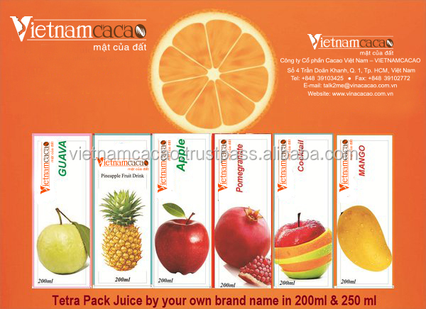 Slim Aseptic Juice 180ml