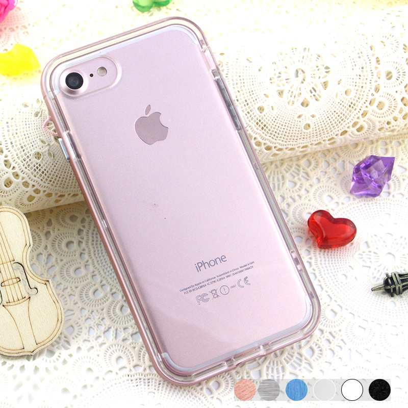 Soft TPU Bumper case protective phone case cover for iPhone 7/iphone 7plus