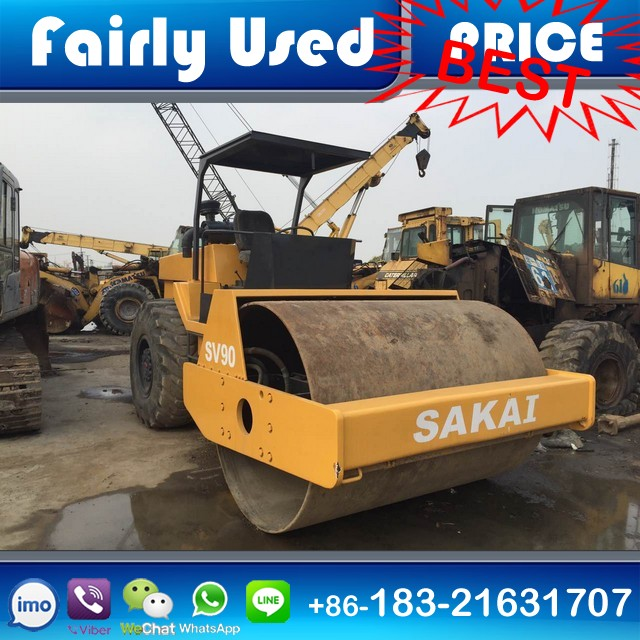 Good Condition Used Sakai Road Compactor Roller SV90 of Second Hand Sakai SV90 Roller Compactor