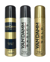 Vandam - 3 Variants Deodorant For Men