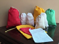 Colorful Single Drawstring Muslin Bag (100% Cotton) High Quality