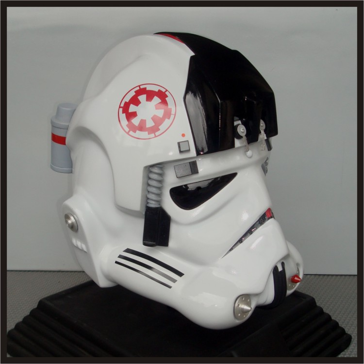 Wearable Costume Star/Space/Sci-Fi/Trek/Wars Helmet, Fiberglass, Realistic Fully Lined and Padded