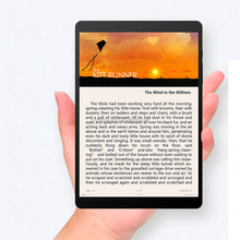 High quality X89 Kindow E-book Reader 7.5 inch Dual OS Windows 10 & Android 5.1Intel Bay Trail Z3735F Quad Core Tablet PC