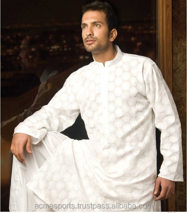 mens kurta - Mens Ethnic Embroidered Kurtis