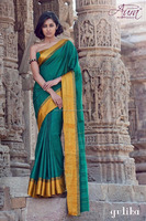 Indian cotton saree for use as summer wear, marriages and special occasions