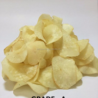 Snack Fried Cassava Chips With Many