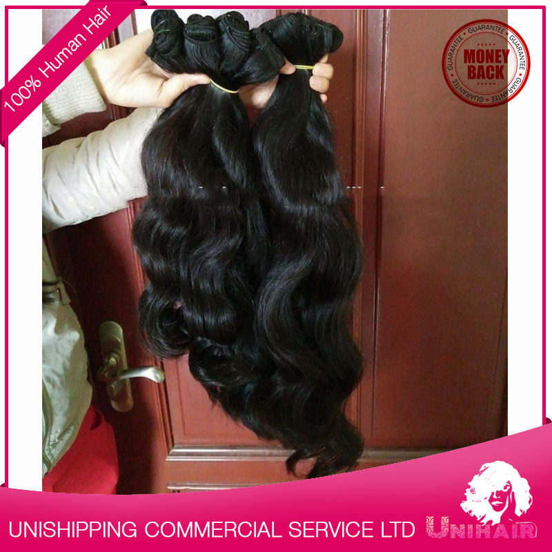 Wholesale Distributors 100% Human Hair Weaving New Style Wavy Hair Extension Human Hair