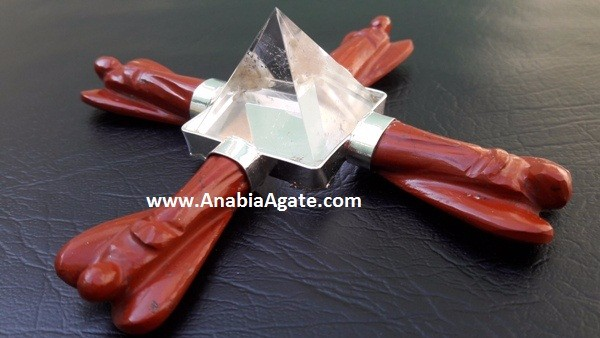 Wholesale agate knives blades Handmade agate artifacts Arrowheads