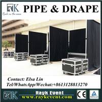 Event supplier portable exhibition booth used pipe and drape for sale