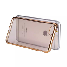 IMPRUE Soft TPU Ultra slim phone case with metallic side frame for iphone5/6/6 plus