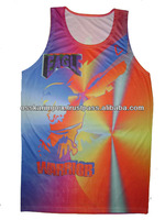 Sublimation/Heat transfer Printed Vest/ Tank top