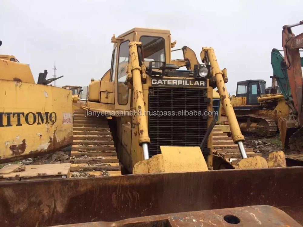 Used CAT D6D/ D6H, D6M bulldozer,original caterpillar bulldozer. Please contact 0086 15026518796 for more information
