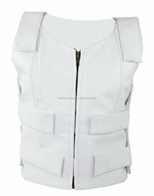 Women's Bulletproof Style Leather Vest