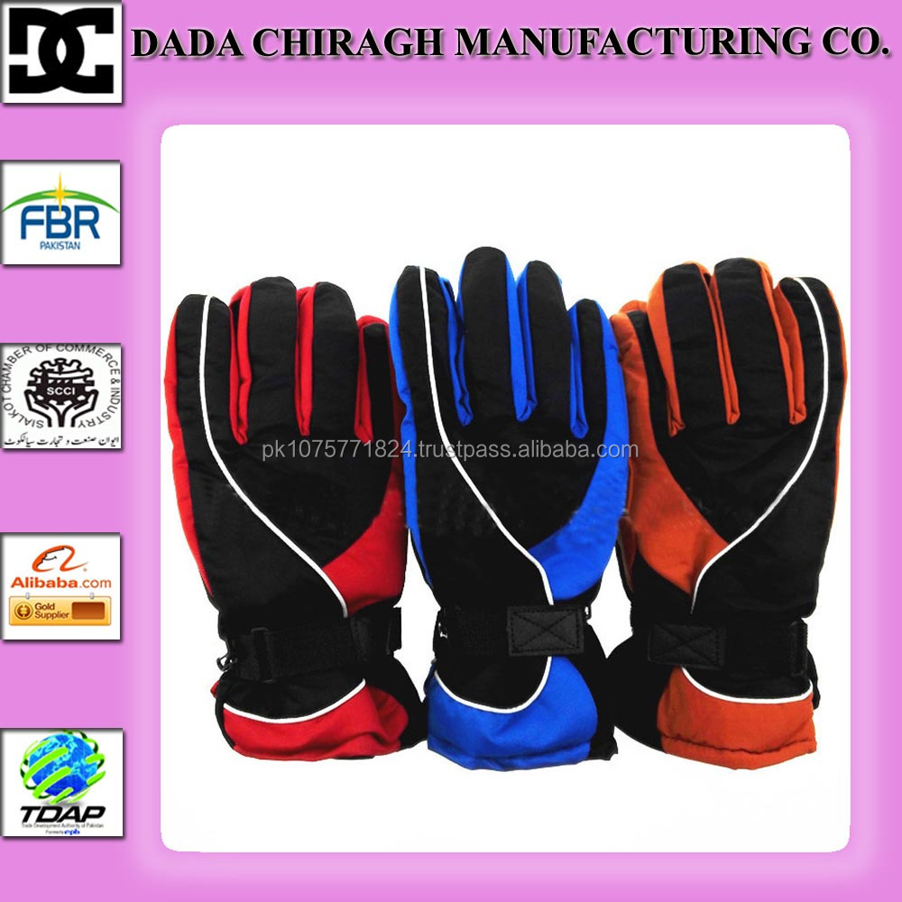 WARM MEN WINTER GLOVES THICKENED SKIING SPORTS WATERPROOF OUTDOOR GLOVES