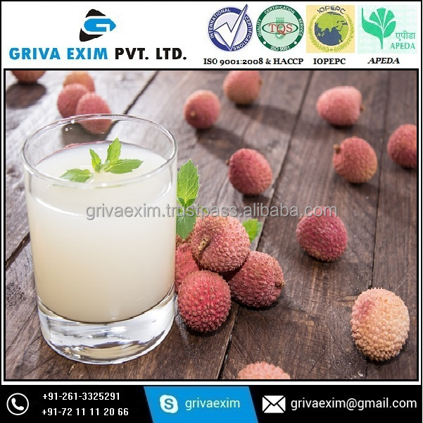 Litchi Flavor Fruit Juice with sugar and other additives