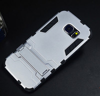 cheap price original ironman case for samsung case s5/s6/s6 edge/s6 edge plus/s7 edge/note 5 With Stand Flexible Armor luxury