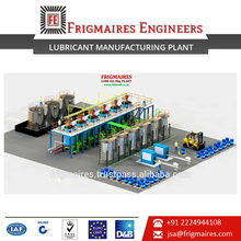 ISO 9001-2008 Company Offers Lubricant Manufacturing Plant